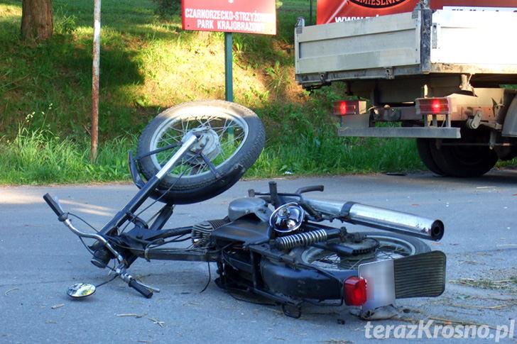 Śmiertelny wypadek w Łączkach Jagiellońskich