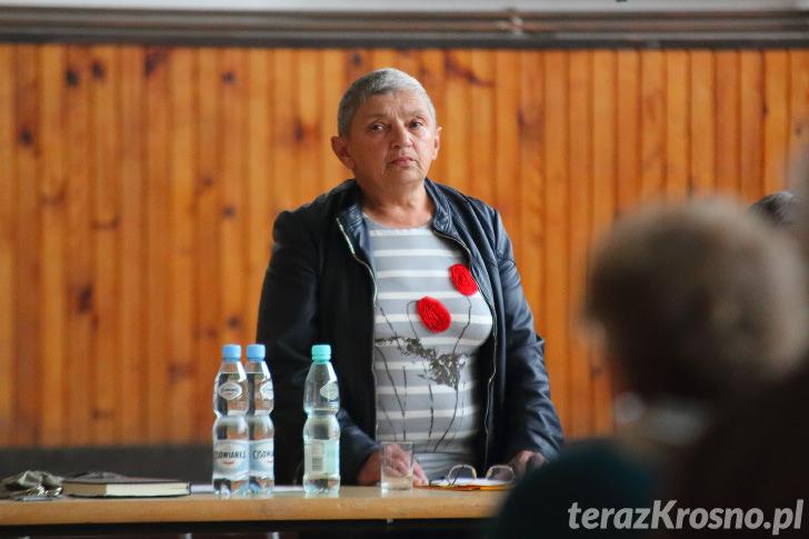 Zebranie wiejskie w Draganowej, odwołanie sołtysa