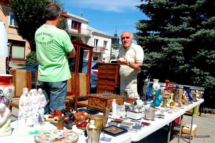 Targ żydowski na dukielskim rynku