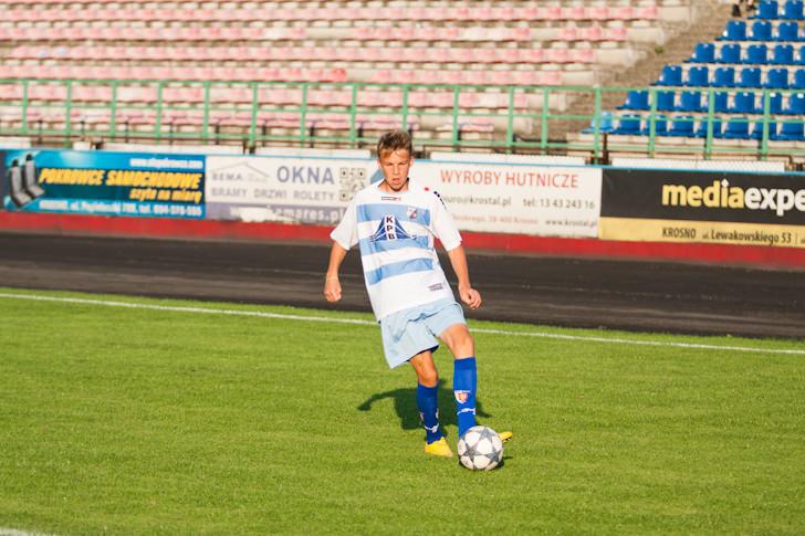 Charytatywny mecz Kibice vs Piłkarze Karpat Krosno