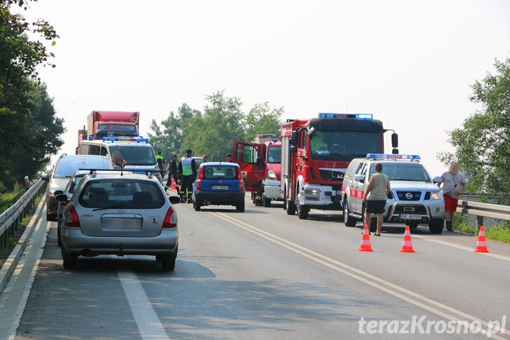 Zderzenie dwóch samochodów na ul. Podkarpackiej