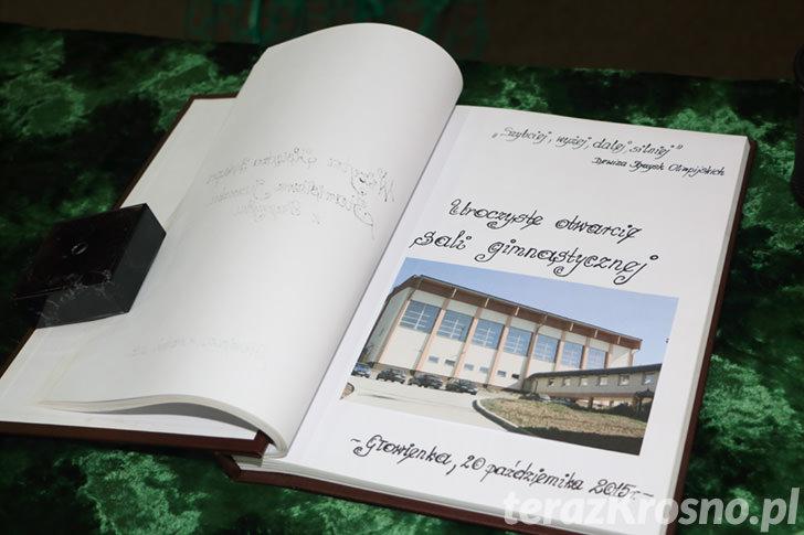 Otwarcie nowej sali gimnastycznej w Głowience