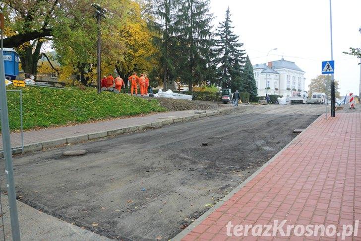 Przebudowa Placu Konstytucji i przyległych ulic