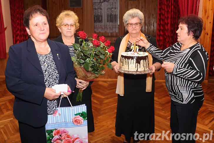 Jubileusz 20-lecia prowadzenia zespołu Seniorzy przez Alicję Adamik