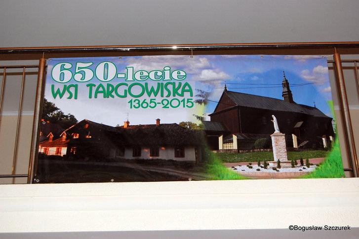 Jubileusz 650-lecia wsi Targowiska, spotkanie 50 - 60 latków