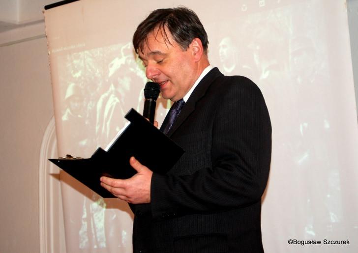 Wykład prof. Andrzeja Olejko w Dukli