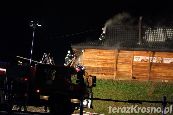 Pożar w Chyrowej - Chyrowa Ski