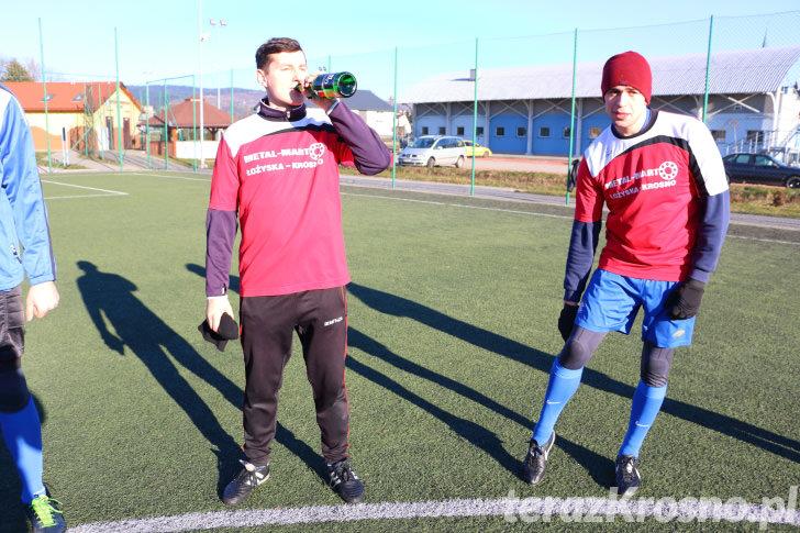 Sylwestrowy mecz Kotwicy Korczyna
