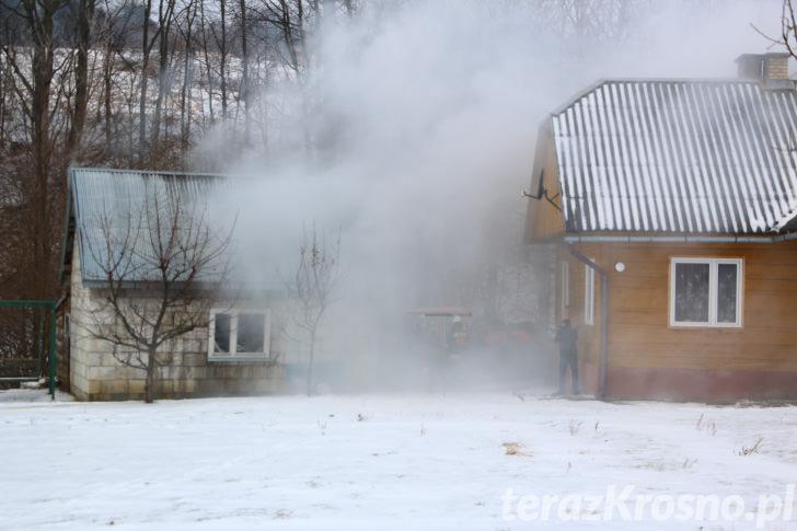Wybuch i pożar w Lubatówce