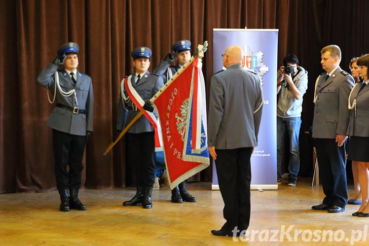 Pożegnanie komendanta krośnieńskiej Policji