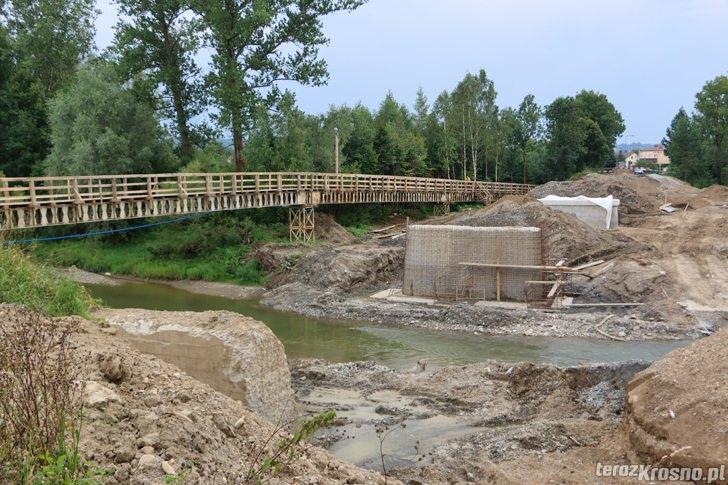 Przebudowa mostu w Jedliczu