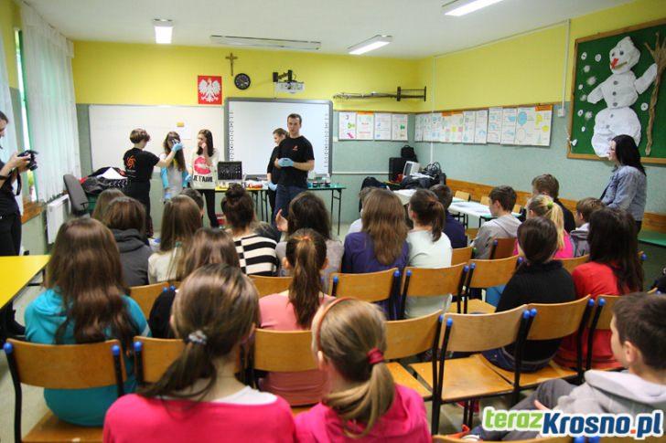 Piknik Naukowy w Gimnazjum w Świerzowej Polskiej