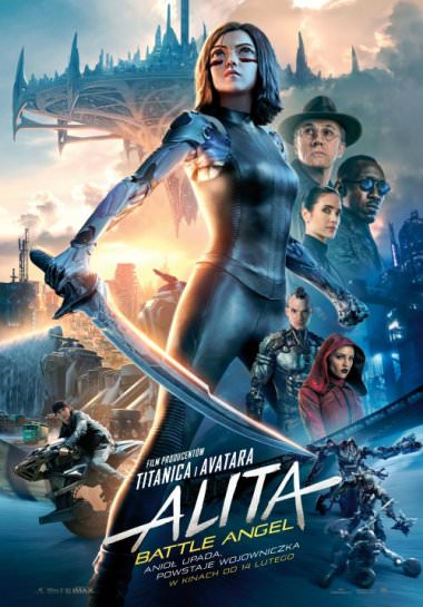 Plakat filmu Alita: Battle Angel (dubbing)