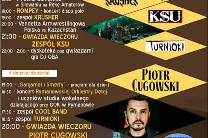 Dni Rymanowa 2019 - Program
