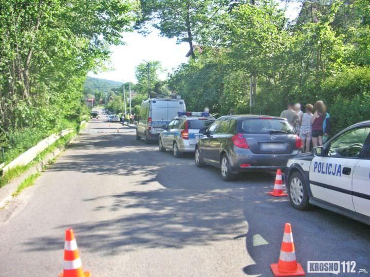 śmiertleny wypadek w Iwoniczu