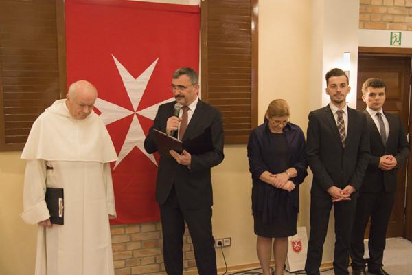 Opłatek Maltański Dwór Kombornia