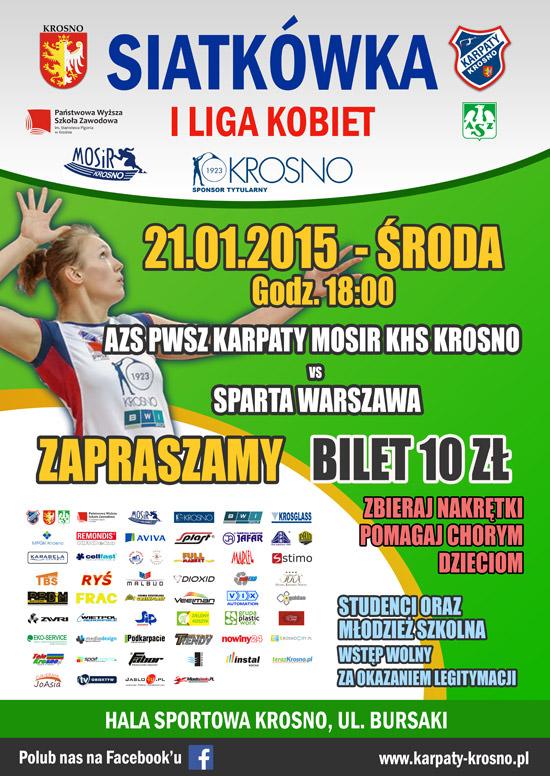 Karpaty Krosno - Sparta Warszawa