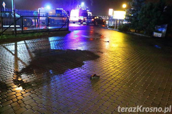 wypadek śmiertelny w Krośnie