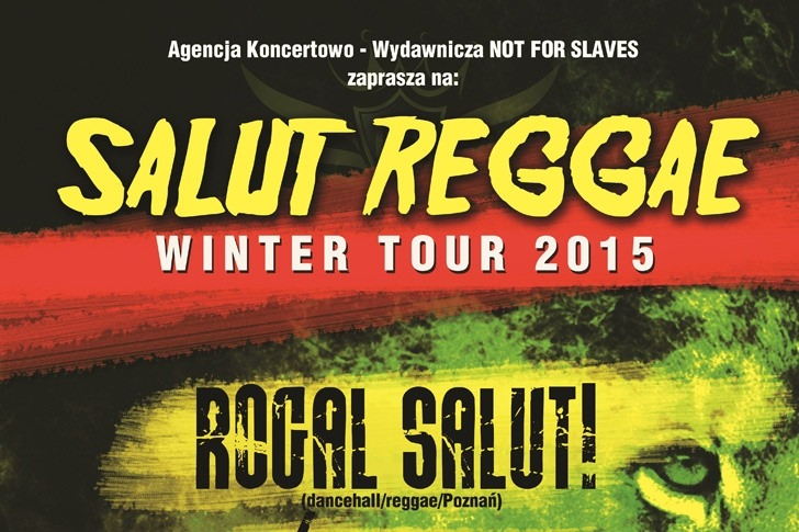 SALUT Reggae Winter Tour 2015 w Dukli