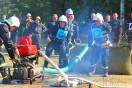 Zawody sportowo - pożarnicze w Dobieszynie